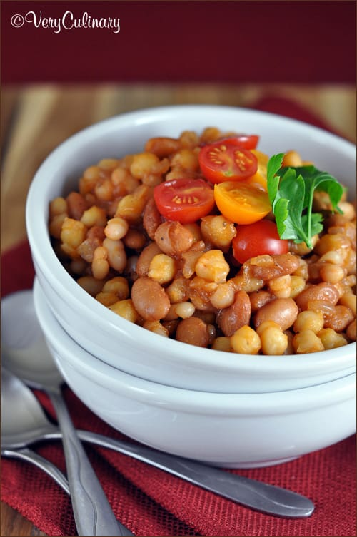 Tangy Three-Bean Skillet | Very Culinary