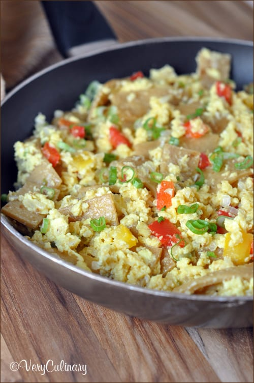 Tex-Mex Migas (scrambled eggs with personality!)