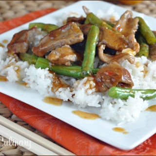 Easy Chinese Orange Beef Stir-Fry