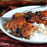 Easy Cranberry Chicken from Very Culinary