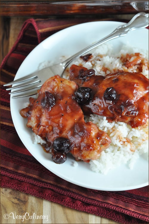 Easy Cranberry Chicken | Very Culinary