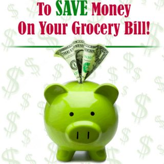 Ways to save money on grocery bill