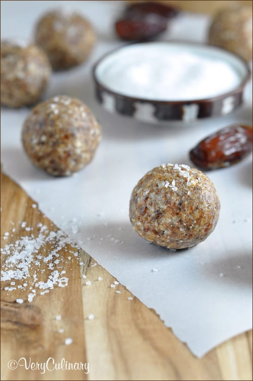 Date and Nut Butter Balls | Very Culinary