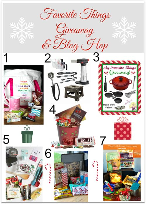 Favorite Things Blog Hop