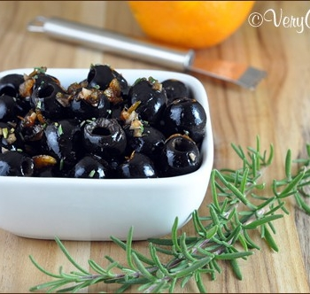 Fig Balsamic Olives | Very Culinary