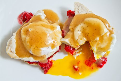 Thanksgiving Leftovers Eggs Benedict from Closet Cooking