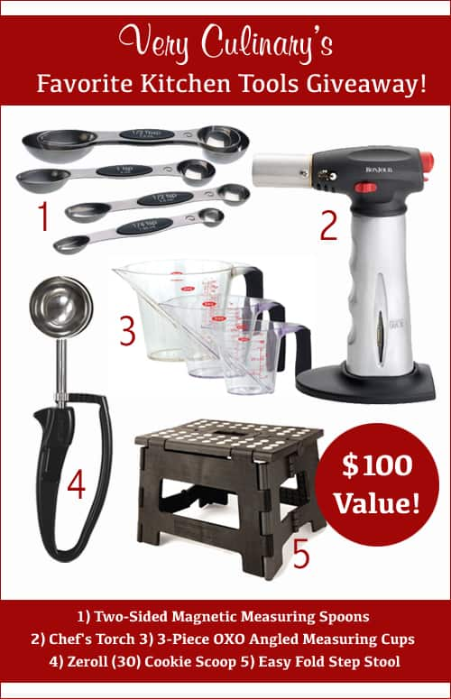 My Favorite Kitchen Tools Giveaway | Very Culinary