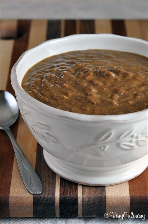 Pumpkin Black Bean Soup | Very Culinary