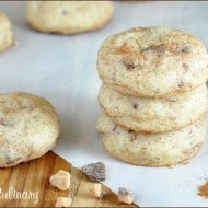 Toffee Speckled Snickerdoodles | Very Culinary