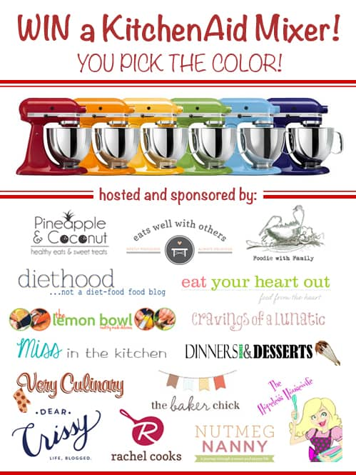 KitchenAid Professional Stand Mixer Giveaway | Very Culinary