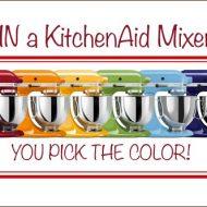 KitchenAid Mixer Giveaway | Very Culinary