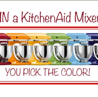 KitchenAid Mixer Giveaway | Very Culinary
