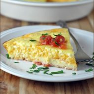 Mexican Omelet Pie from Very Culinary