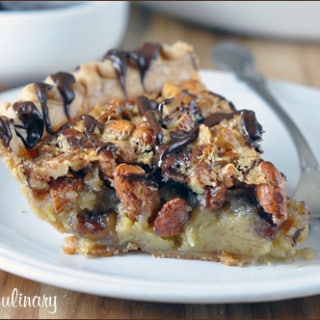 Mixed-Nut Turtle Pie | Very Culinary