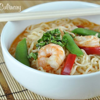 Thai Curry Shrimp Soup | Very Culinary