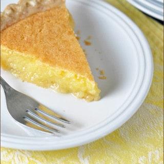 Easy Lemon Curd Pie