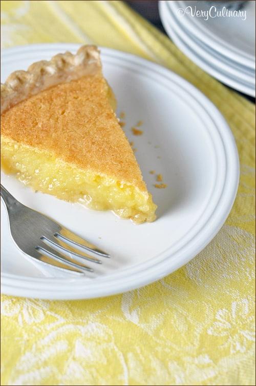 Lemon Curd Pie on www.bellyfull.net