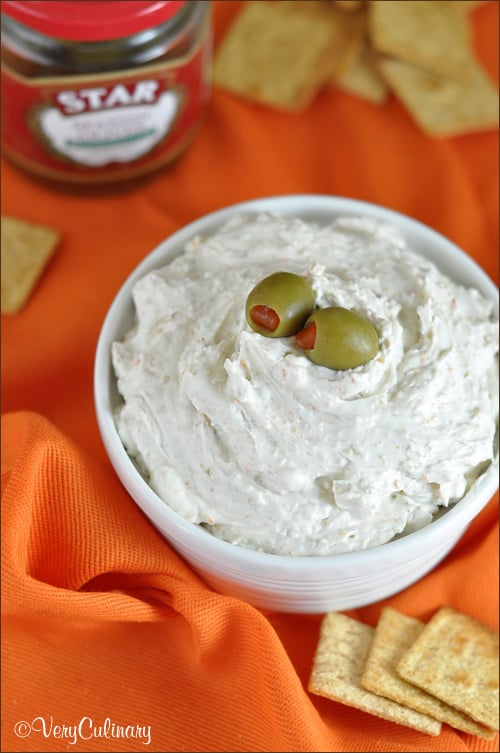 5 Minute Olive Spread