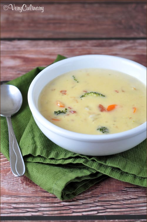 Three-Cheese Beer Soup from Very Culinary