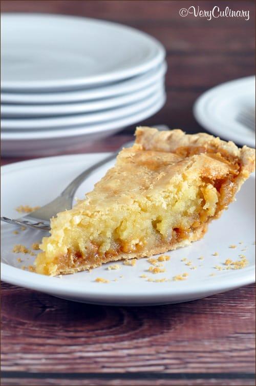 Macadamia Nut Butterscotch Cookie Pie on www.bellyfull.net