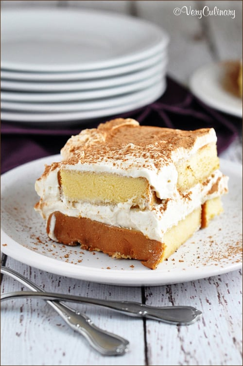 Easy Pound Cake Tiramisu on www.bellyfull.net