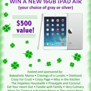 16 GB iPad Air Giveaway! #apple #iPad #giveaway #contest