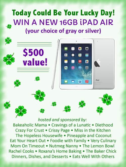 16 GB iPad Air Giveaway! #apple #iPad #giveaway #contest