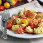 Bread and Tomato Salad #Panzanella