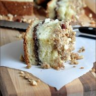 Chocolate-Hazelnut Coffee Cake