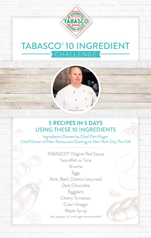 Tabasco 10 Ingredient Challenge