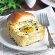Toasted Brioche Egg Cups