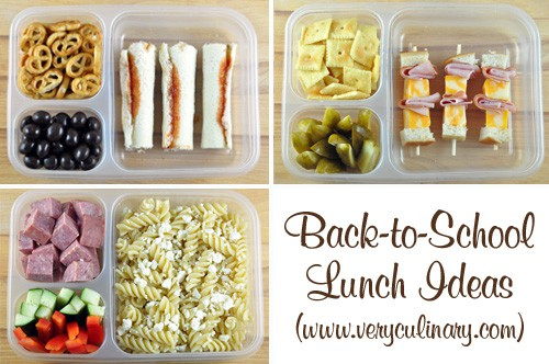 Back-to-School Lunch Ideas #lunchbox #backtoschool #kidslunch