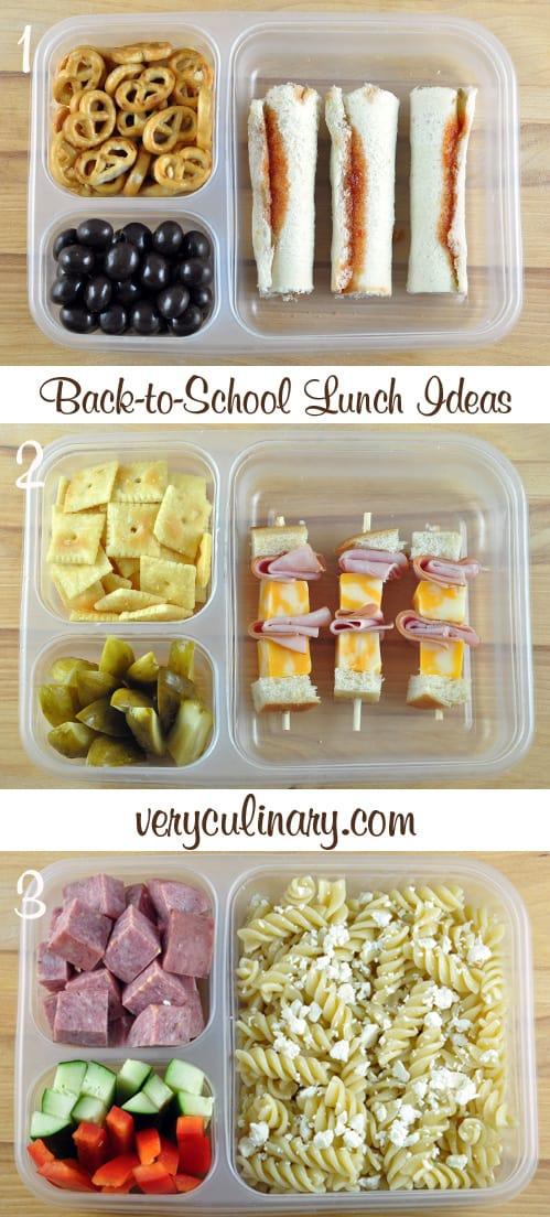 With this list of school lunch ideas, your kids will never be bored. They will have a variety in their diet and (because it comes from home) it's healthier than anything the schools could provide.