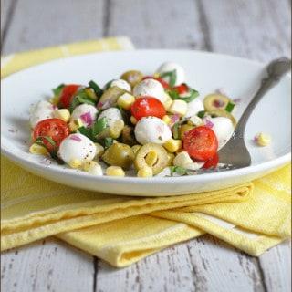Caprese Corn Salad