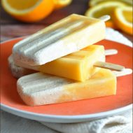 Orange Creamsicles #popsicles