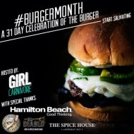 burger month badge