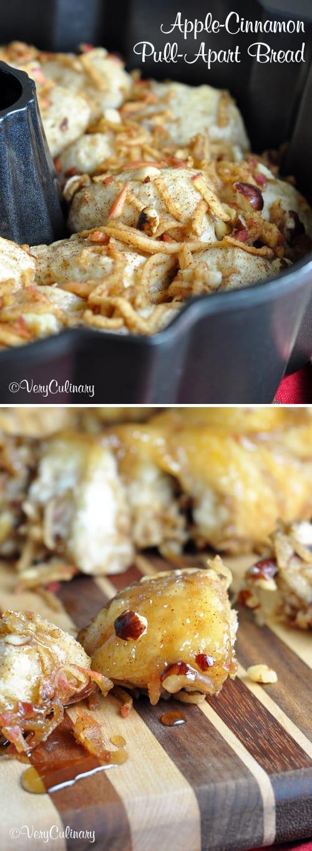 Easy Apple-Cinnamon Pull-Apart Bread