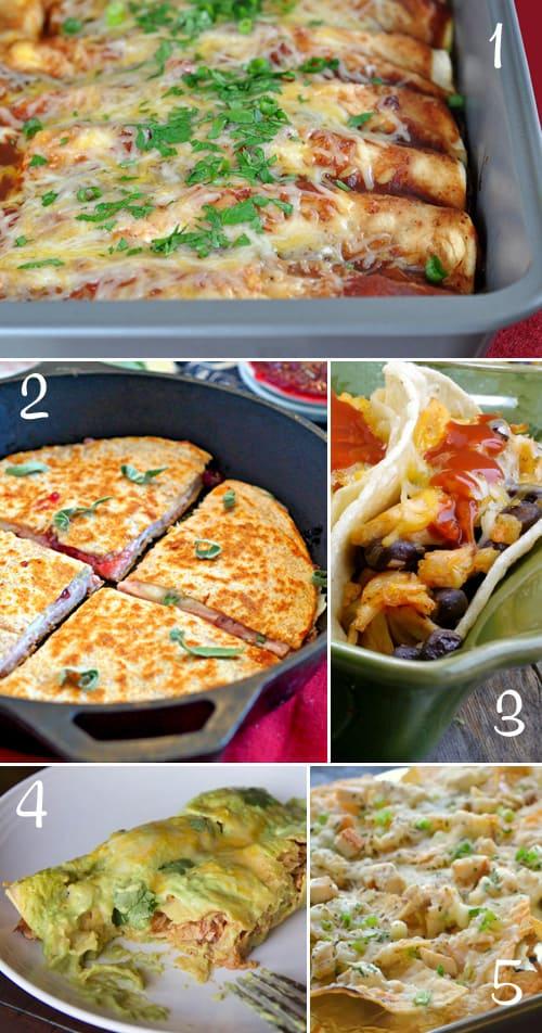5 Delciious Mexican Recipes using Leftover Turkey