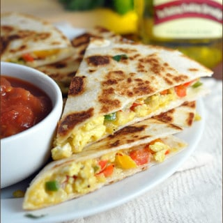 Mexican Breakfast Quesadillas