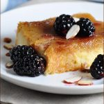 This sweet make-ahead Amaretto Brioche Bake Casserole is elegant, but easy! Perfect for a holiday breakfast or brunch.