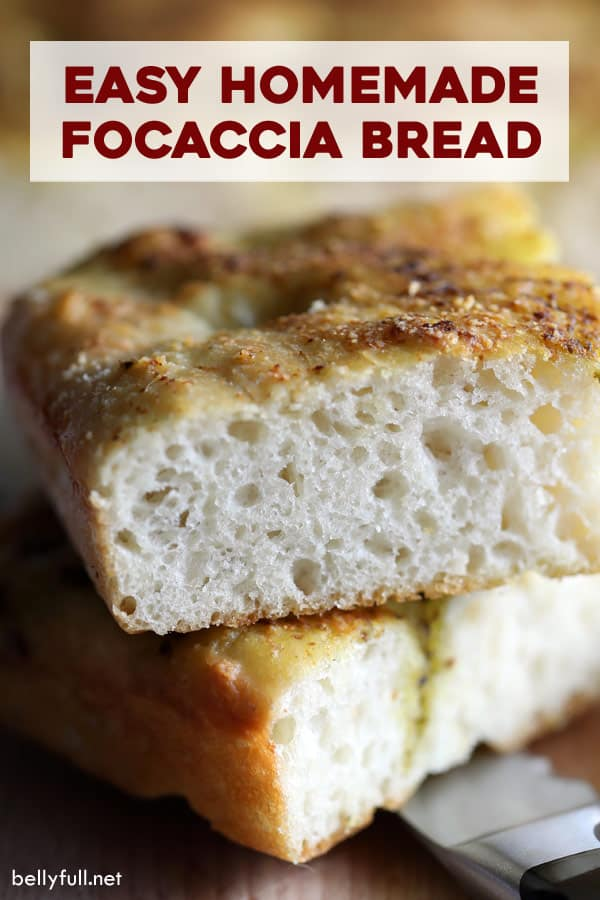 pin for Focaccia Bread
