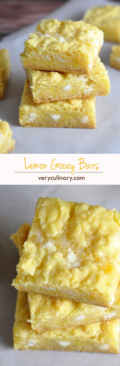 Lemon Gooey Bars