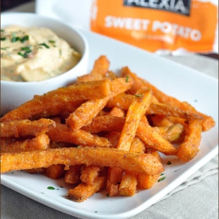 Sweet Potato Fries with Chili-Lime Dip
