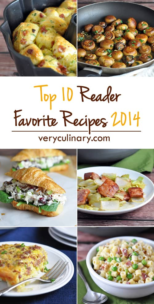 Top 10 Reader Favorite Recipes for 2014 - Very Culinary