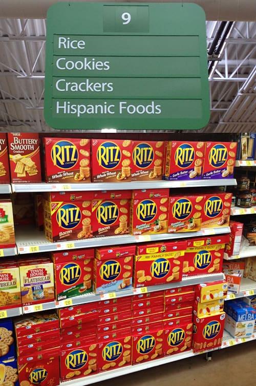 Ritz in Walmart