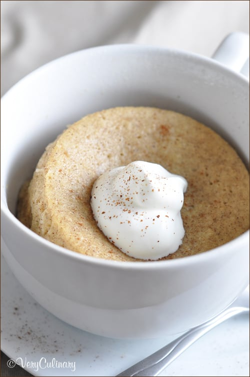 Coffee Cake In A Mug Without Egg