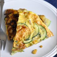 An Italian egg frittata with a southwestern flair. Serve hot, warm, or cold. For breakfast, lunch, or dinner!