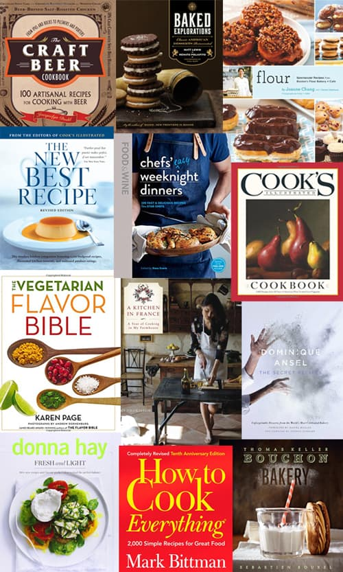 12 Favorite Blogger Cookbooks