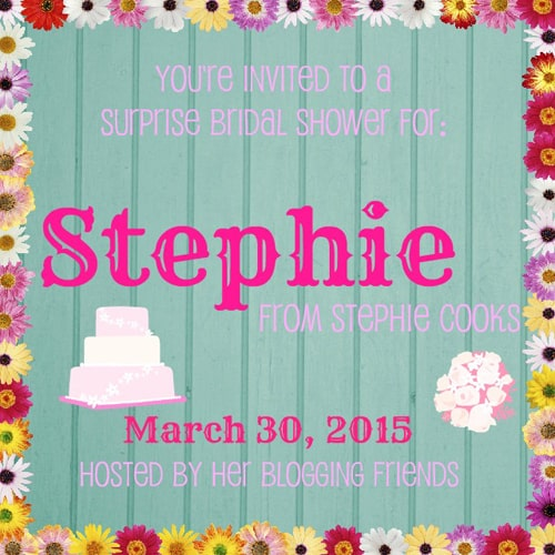A Virtual Bridal Shower for Stephie Cooks