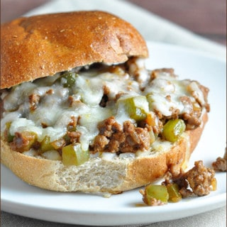 Easy Philly Cheese Steak Sloppy Joes
